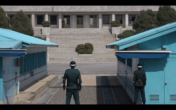 Panmunjeom grens Zd. Nd Korea DMZ
